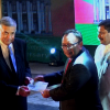 Issuing of commemorative stamps for 150th Anniversary of Colombo Municipal Council